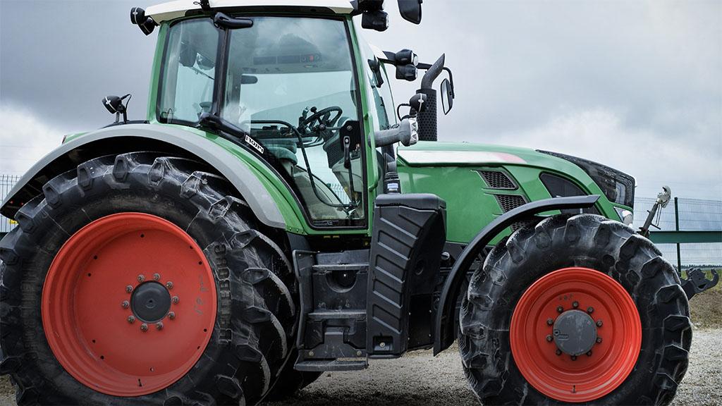 Homologation von Traktoren
